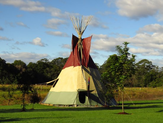 Krambach, Australia: Lakota Tipi - Kings Creek Retreat