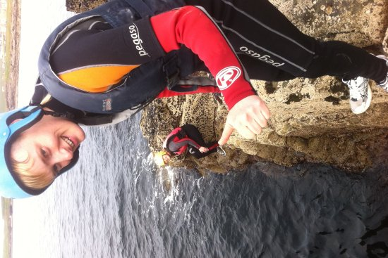 Coasteering Kilkee Co Clare on the wild atlantic way
