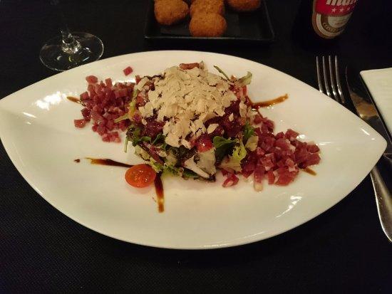 Briviesca, Spain: Ensalada
