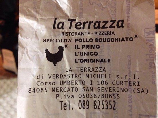 La Terrazza - Picture of La Terrazza, Mercato San Severino - TripAdvisor
