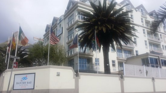 Bantry Bay, Afrika Selatan: Front of hotel