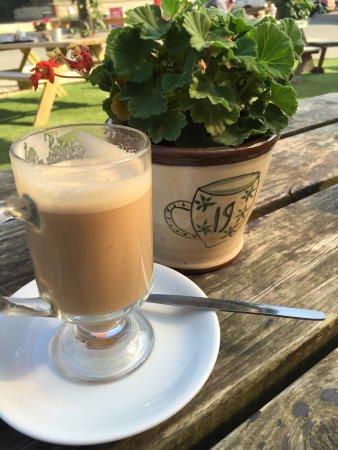 Deepdale Cafe: Smashing coffee