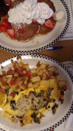 Porterville, Kalifornien: colazione