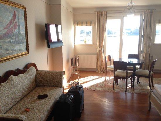 Dyvig Badehotel: Grand De Lux værelse
