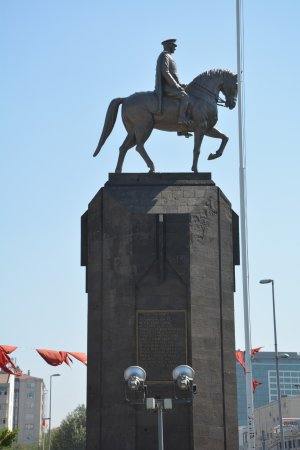 The Statue of Ataturk