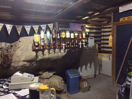 Bosduifklip: Bar area