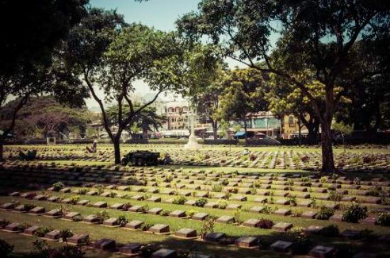 Across the road from the Thailand-Burma Railway Centre