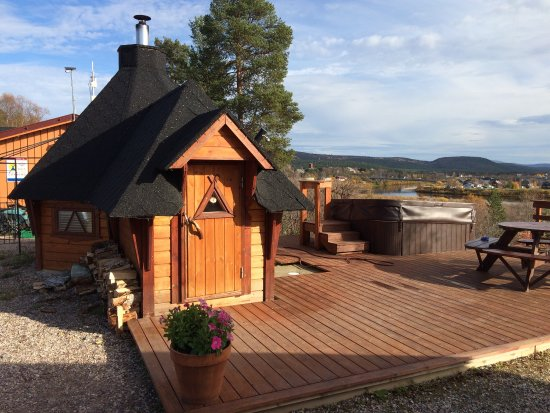 Karasjok, Noorwegen: Sauna & Jacuzzi 😎 Good price for 3 hours!