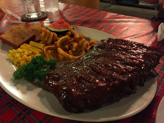 Great American Rib Company: Great Rib with 2 choices of side dishes