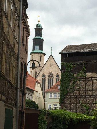 Mühlhausen, Germania: Gerberviertel mit Kornmarktkirche