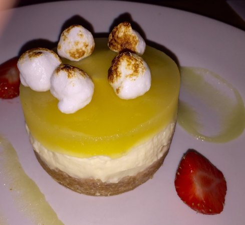 Marmion's Brasserie: Apple cheesecake
