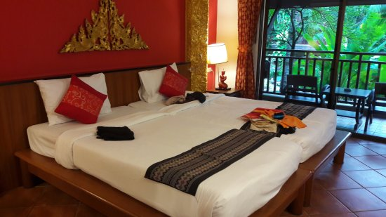 Kata Palm Resort & Spa: Chambre double