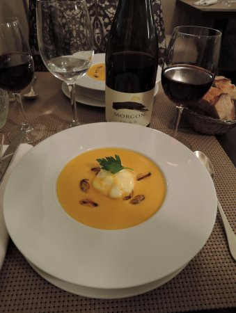 Chez Gabrielle : суп с мидиями