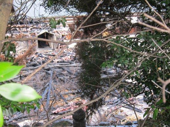 Higashiura-cho, Japan: 焼失した本堂