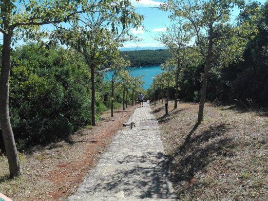 Krnica, โครเอเชีย: Zejście na plaże