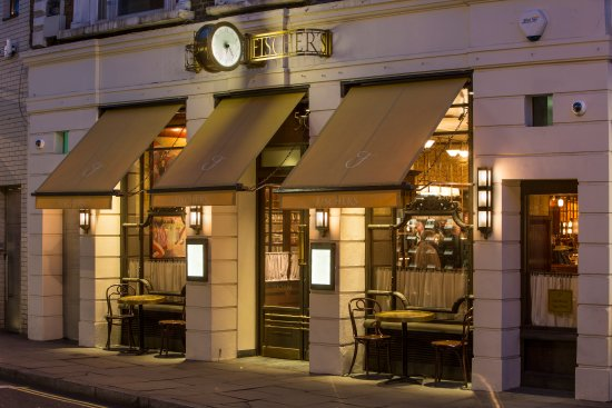 Fishers Restaurant Marylebone High Street
