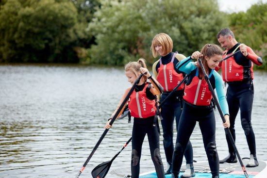 Holme Pierrepont, UK: Water activities at the Lagoon