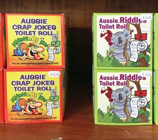 Kingscote, Αυστραλία: Toilet rolls