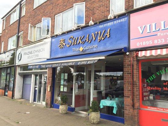 Denham, UK: Facade of Sukanya Thai Restaurant