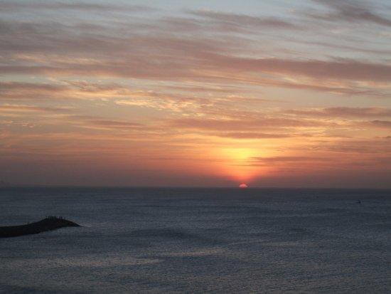 Hotel Samudra : Sun Rise view