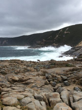 Albany, Australien: The super super big wave