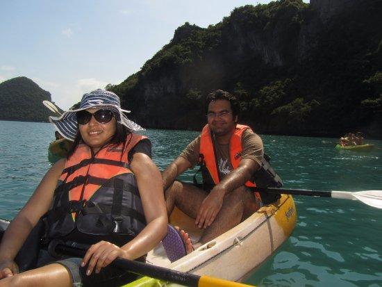 Bophut, Thailand: kayaking