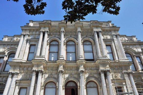 Beylerbeyi-Palast (Beylerbeyi Sarayı): façade of the palace