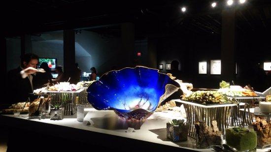 Gallery of Amazing Things: Dale Chihuly Glass among a lavish buffet