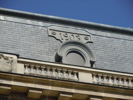 Les Lilas, France: Date sur la toiture - 1903