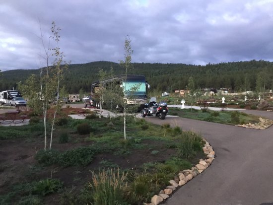 Angel Fire, NM: our RV site