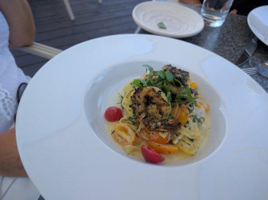 Vineland, Canada: Shrimp pasta