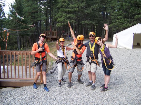 ZipZone Peachland: A sucessful and great time for sure !
