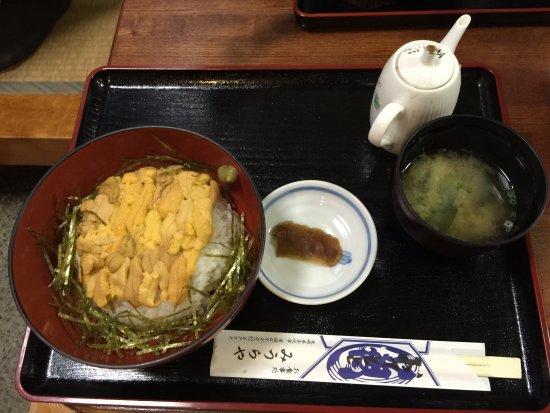 Iki, Japan: 赤ウニ丼
