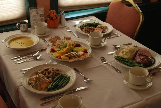 Seminole Gulf Railway Murder Mystery Dinner Train: AutumnHarvestTable