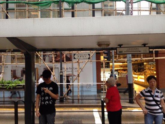 Sohotel: Трамвайная остановка рядом с отелем