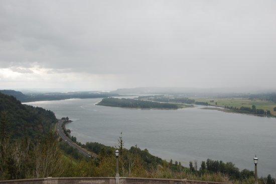 Corbett, Oregón: Looking toward Portland