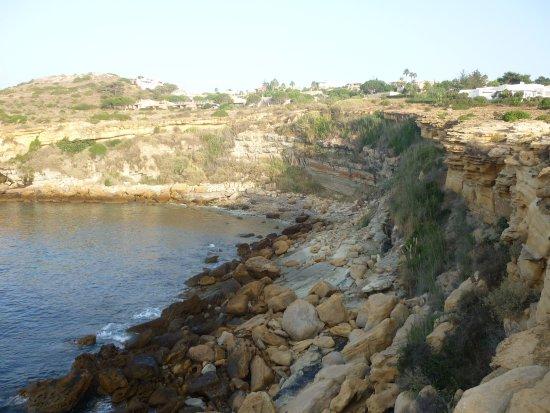 Porto Dona Maria Resort: Falaise