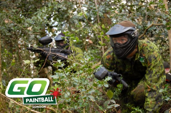 Whyteleafe, UK: www.gopaintball.co.uk