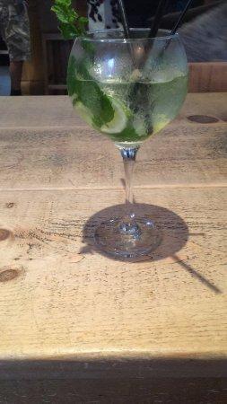 Alfreton, UK: extended cocktail menu