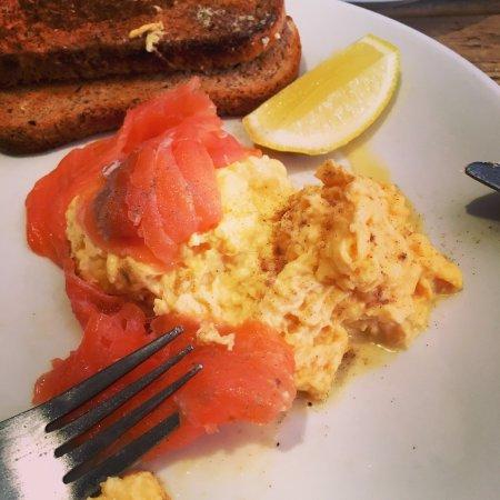 Alfreton, UK: English breakfast new style