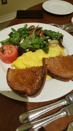The Garden Cafe: Fennel and potato omelet