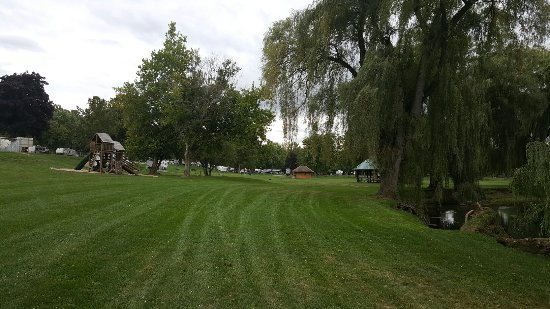 Phelps, นิวยอร์ก: Cheerful Valley Campground