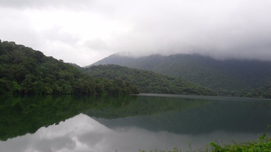 Vajreshwari, India: Pelhar lake in month of august
