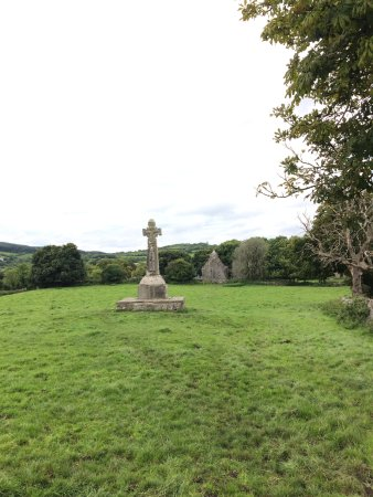 Corofin, Irland: Historic Cross