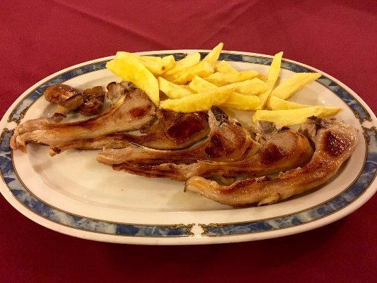 Riaza, Spain: Chuletillas de lechal
