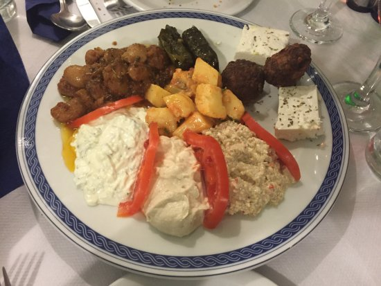The Muses: Mixed Starter Plate - amazingly yummy