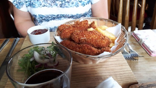 Ditcheat, UK: Chicken Goujons
