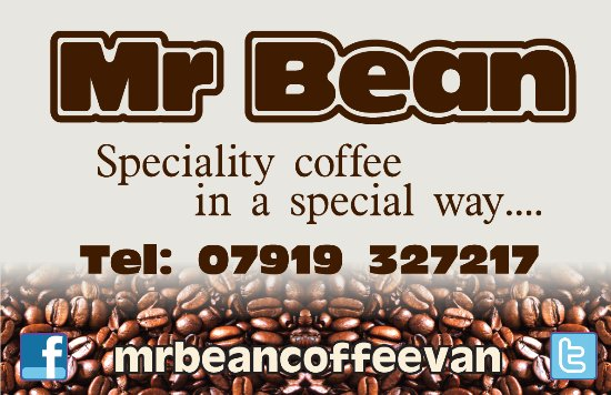Mr Bean Coffee Van: logo