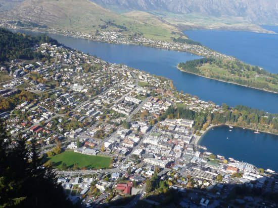 Queenstown, New Zealand: View from the top