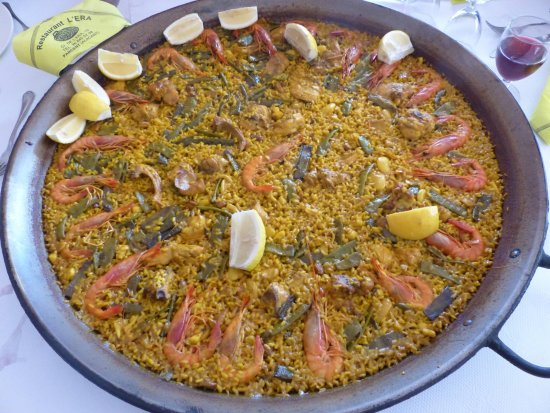 Parcent, Ισπανία: magnifique, savoureuse, meilleure paella nous nous sommes régalé